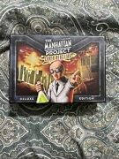 The Manhattan Project Chain Reaction Deluxe Edition Card Game Board New