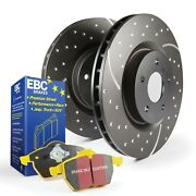 Ebc Brakes S5kr1403 S5 Kits Yellowstuff And Gd Rotors Fits 04-11 Elise Exige