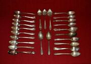 Lot Of 35 Assorted Vintage Silverplate Large Serving Spoons Craft - Lot2