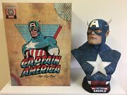 Limited Edition Sideshow Collectibles Captain America Life Size Bust 702/1000