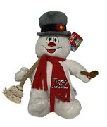 Build A Bear Frosty The Snowman With Song And Light Up Cheeks 19 Inch Babw