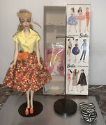 Stunning Vintage Barbie Ponytail 3 With Boxandstand In Andldquocountry Fairandrdquo 1603 Mint