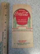 Vintage Coca Cola 1930and039s Dry Server The Pause That Refreshes Thomasville Georgia