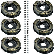 12 X 2 Electric Trailer Brakes Aseembly Left And Right Side 6000 7000 Axle Brake