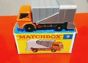 Matchbox Series N 7 Refuse Truck Rare H Box Made In England Superfast
