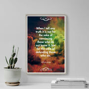 William Blake Quote When I Tell Any Truth... Art Print Photo Poster Gift