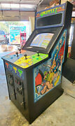 Gauntlet 2 Atari Full Size Arcade Stand Up 4 Player Fighting Game Classic