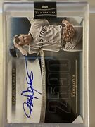2021 Topps Luminaries Baseball 2/5 Roger Clemens Masters Of The Mound Auto Blue