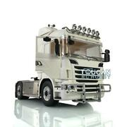 1/14 4x4 Lesu Chassis Hercules Cabin Rc Tractor Truck Bumper Motor For Scania