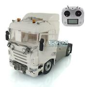 Lesu 1/14 4x4 Chassis Sound Hercules Cabin Rc Tractor Truck Radio For Scania