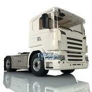 Lesu Metal 4x4 Chassis Hercules Cabin Set 1/14 Rc Tractor Truck Light For Scania
