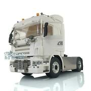 Lesu 1/14 4x4 Chassis Diy Hercules Cabin Rc Tractor Truck Hook Light For Scania