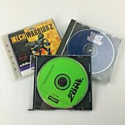 Lot 3 Pc Activision Space Invaders Battle Zone Mech Warrior 2 Game Cd Windows 95