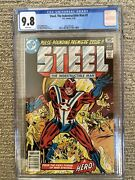 Steel The Indestructible Man 1 Dc Bronze Age Comic Cgc 9.8 Wp First Issue
