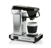 New Sold Out Moccamaster Cup-one Single Cup Coffee Maker   Polished Silver