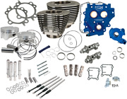 Sands 585ce 110 Big Bore Cylinder Kit/power Package Black 07-17 Twin Cam 330-0668