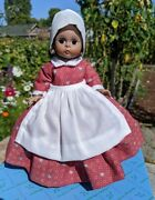 8 Madame Alexander Doll 630, Prissy From Gone With The Wind W/ Orig. Box, Stand