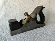 Extremely Rare Antique Norris Number 13 Infill Plane Collectible Woodwork Tool