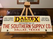 The Southern Supply Co. Porcelain Sign John Deere Oliver Caterpillar Tractor