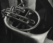 Ann Rosener Nun With French Horn, Nyc, 195 / F.s.a. / Pix-k / Vintage / Stamped