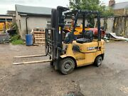 Gas Forklift Truck - Compact Container Spec - Forks Not Telehandler