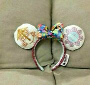 Disneyland Is A Small World Watch Minnie Mouse Sequined Ear Headband Boutique