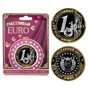 Coin 1 Andeuro Happy Euro Written In Russian Everything Will Be Fine 1 счастливый евро