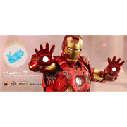 New Limited Hot Toys Decast Iron Man Mark 7 Avengers F/s Japan