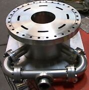 200mm Cylindrical Stainless Vacuum Chamber With Ports