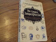 The Complete Antiques Price List Kovel 3rd Edition 1971 Book Vintage Rare Collec