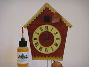 Liquid Bearings, Best 100-synthetic Oil For Cuckoo Or Any Vintage Clocks, Read