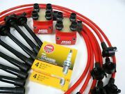 Spark Plug Wires Msd Coil Ngk 96-98 Ford Mustang Cobra