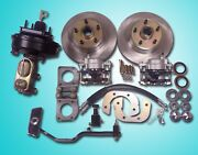 1967 1968 1969 1970 Mustang Power Front Disc Brake Conversion With Pedal V-8