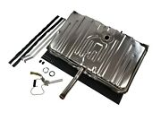 Stainless Gas Tank Kit For 70 Gto - 3 Vents On Tank Sending Unit Straps And Pads