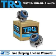 Trq Front Wheel Hub And Bearing Assembly Pair Set For Buick Chevy Pontiac