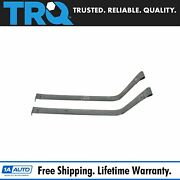 Trq Fuel Tank Straps For 90-00 Town Car Crown Vic Grand Marquis