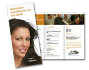 10000 Tri-fold Glossy Brochures Real Printing Not Copies