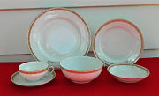 62-pieces Or Less Of Heinrich And Co Pattern Hc275 Fine Bavarian China