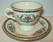 Picard For Danbury Mint Demitasse Cup And Saucer Mint