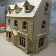 Dolls House The Newbury Corner Shop/pub With 5 Rooms Kit Above 30 Wide