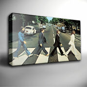 The Beatles Abbey Road - Giclee Canvas Wall Art Picture Prints