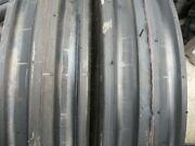 Two 11.00x161100x1611.00-16 Deere Ford Ten Ply 3 Rib Tractor Tires W/tubes