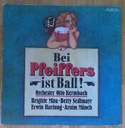Orchester Otto Kermbach Bei Pfeiffers Ist Ball Lp/gdr