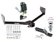 Trailer Tow Hitch For 03-04 Honda Element Complete Package W/ Wiring 1-7/8 Ball