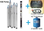 Grundfos 3 Constant Pressure Submersible Well Pump 15sqe10 250 1hp Cu301 Kit