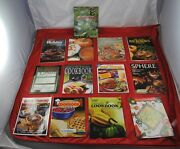 Lot Of 13 Vintage Cookbooks Recipes Reporter Herald Sunset Consumer Guide X5b31