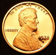 1978 S Lincoln Memorial Proof Penny From U S Mint Proof Set