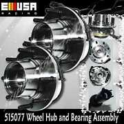 2 Pcs Front Wheel Hub Assembly For 99 Ford F-450 Super Duty 4wd Thru3/21/1999