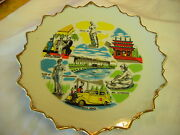 Vintage Movieland Wax Museum And Palace Of Living Art Collectors Wall Plate