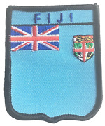 Fiji Embroidered Patch
